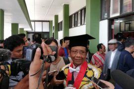 Mahfud tegaskan tak pernah bahas pilpres dengan Jokowi