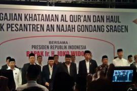Presiden Jokowi hadiri haul Ponpes An Najah Sragen