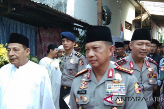 Kapolri: 164 teroris ditangkap