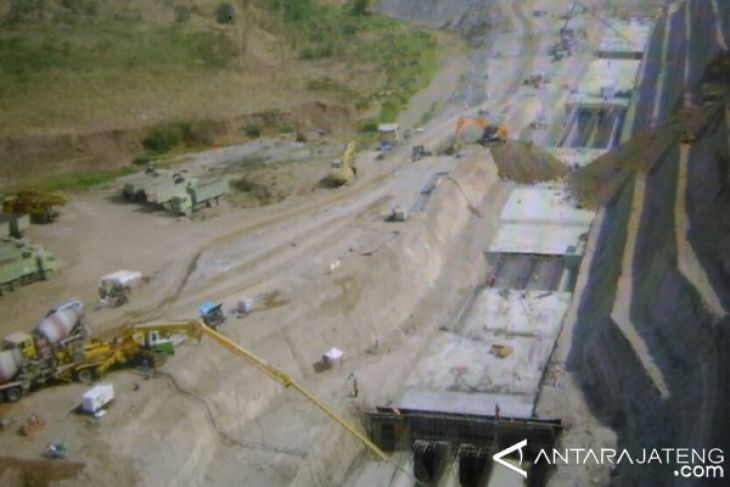 Logung Dam construction to be completed in September