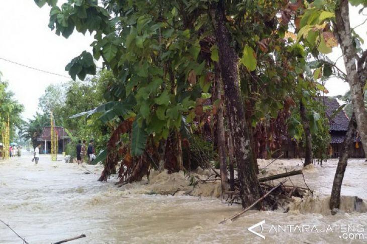 Belasan desa di Grobogan dilanda banjir