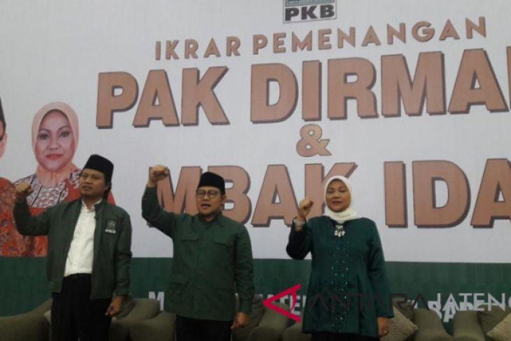 PKB Jateng gelar ikrar pemenangan Dirman-Ida