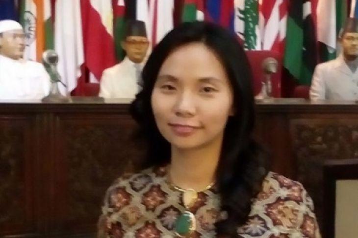 Livi Zheng bangga bisa rayakan Hari Kartini bermain angklung di AS
