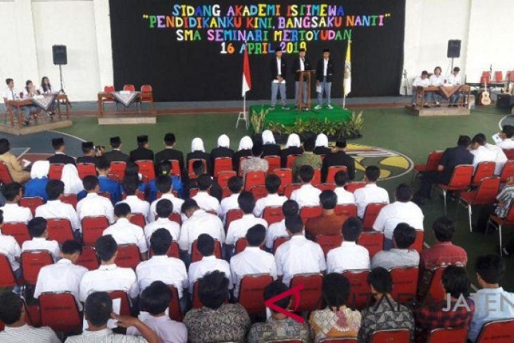 SMA Seminari Mertoyudan gelar sidang akademi istimewa