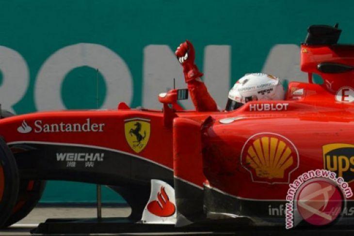 Vettel geser Hamilton dari puncak klasemen F1