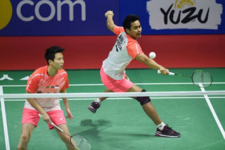 Dikalahkan Goh/Sheven, Tontowi/Liliyana harus puas sebagai runner-up Singapura Terbuka