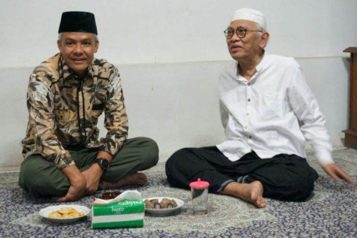 Ganjar menilai Jokowi-Ma`ruf sudah cocok