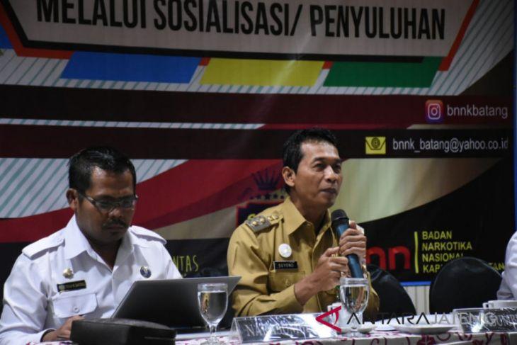 Lima kecamatan di Batang rawan penyalahgunaan narkoba