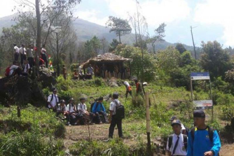 Warga Gunung Sindoro Rintis Wisata Alam Sedadap