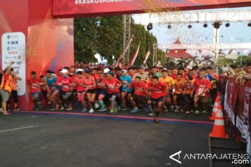 3.100 Peserta Mengikuti Lomba Lari Half Marathon