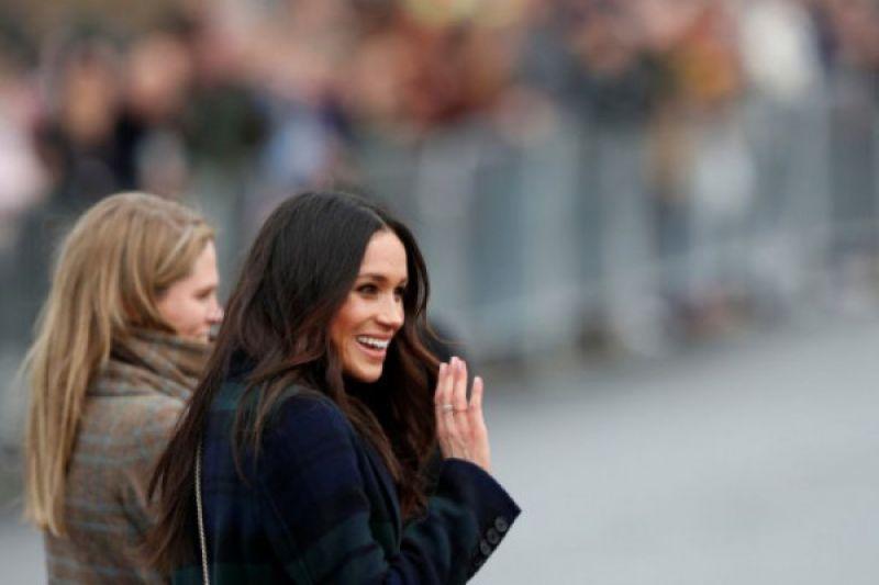 Megan Markle tampil resmi pertama dengan Ratu Elizabeth