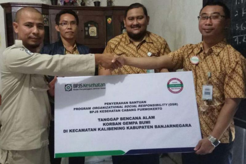 BPJS Kesehatan bantu korban gempa Banjarnegara