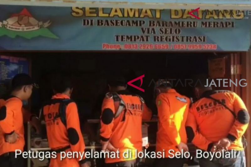 160 pendaki Merapi berhasil dievakuasi (VIDEO)