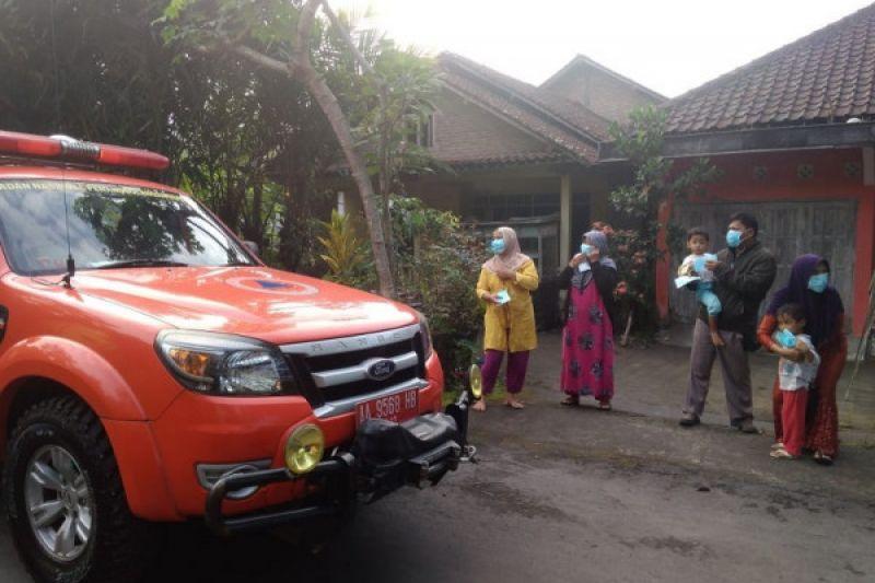 Letusan freatik, Desa Kaliurang Magelang terjadi hujan abu