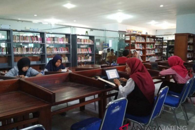 Tingkatkan minat baca,  katalog buku Perpustakaan Kudus disinkronkan dengan sekolah
