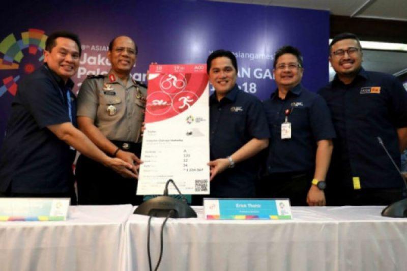 Beli tiket Asian Games 2018 harus pakai kartu identitas