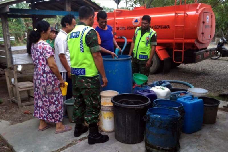 Delapan desa di Cilacap mengalami kekeringan