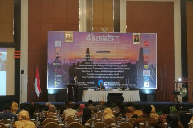 Pertemukan ahli teknik sipil sejumlah negara, UNS kembali gelar ICRMCE