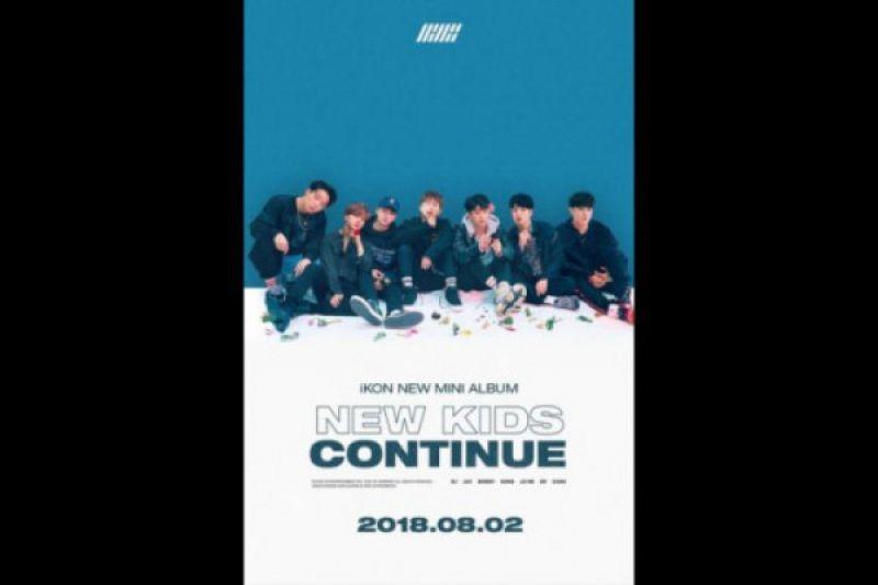 Boy grup iKON akan hadirkan mini album baru