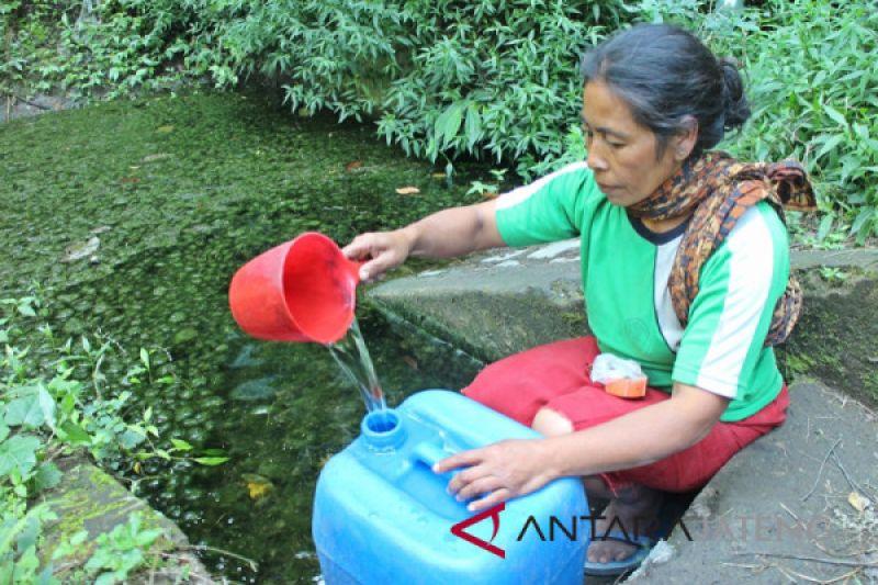Warga lereng Merapi Boyolali krisis air bersih