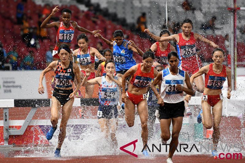 Hari ke-11 Asian Games, atletik perebutkan delapan medali emas