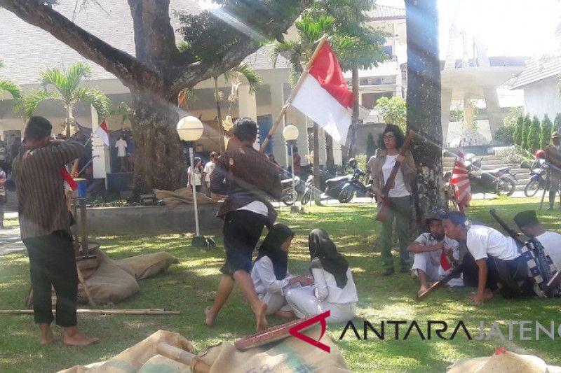 Pemuda lintas agama dan suku di Magelang rayakan HUT RI