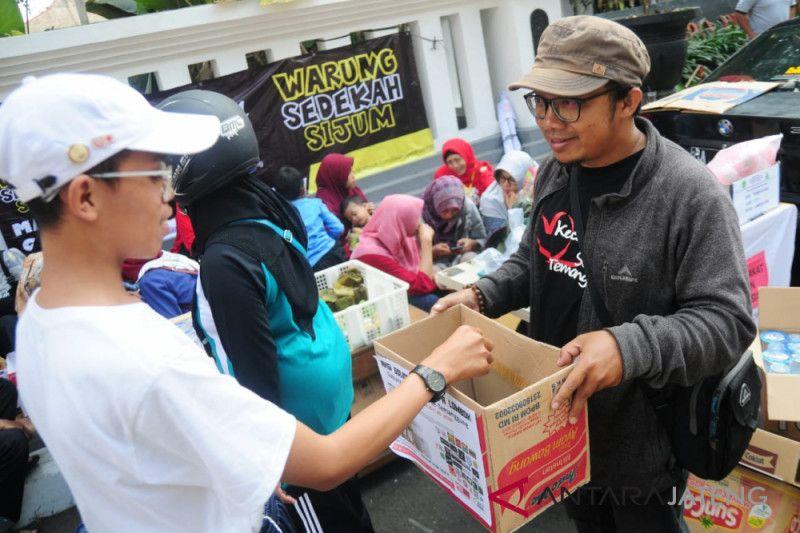 Komunitas di Temanggung galang dana korban gempa Lombok