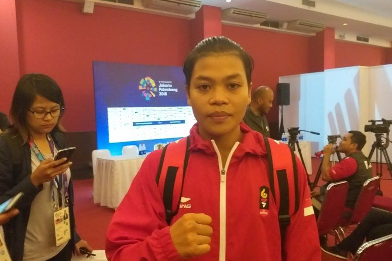 Petinju Huswatun sumbang medali perunggu