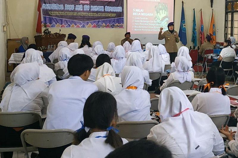 IARMI Beri Pembekalan Bela Negara di Kampus AKS Semarang