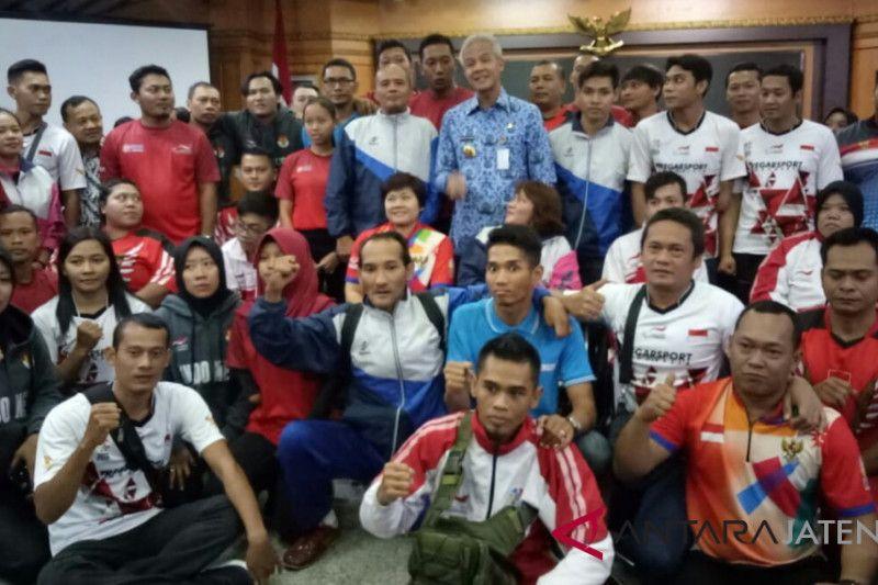 Atlet Para Games Jateng terima uang saku Rp2,7 juta per orang