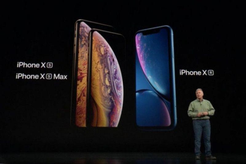 Apple luncurkan tiga penerus ponsel iPhone X sekaligus