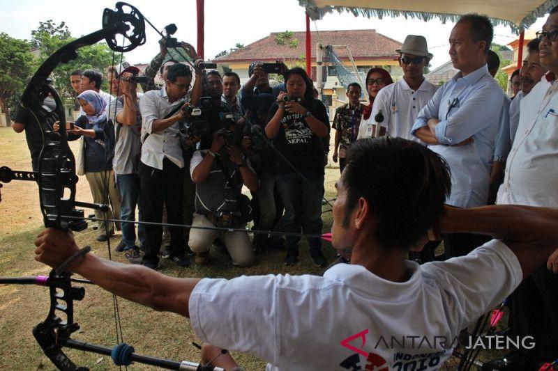 Mensos semangati altet panahan Asian Para Games