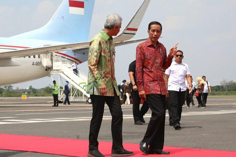 Presiden Jokowi: Pemerintah berkomitmen beri perhatian terhadap kalangan santri