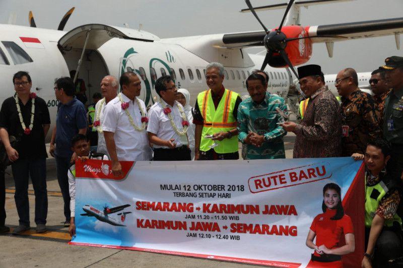 Wings Air buka rute Karimunjawa, Ganjar janji mempromosikan