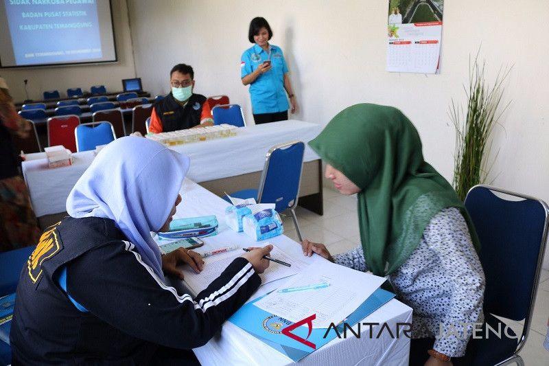 BNN tes urin pegawai BPS Temanggung
