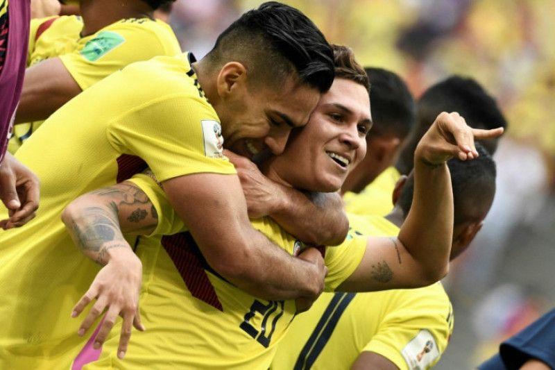 Pemain Kolombia selamat dari penembakan usai pertandingan