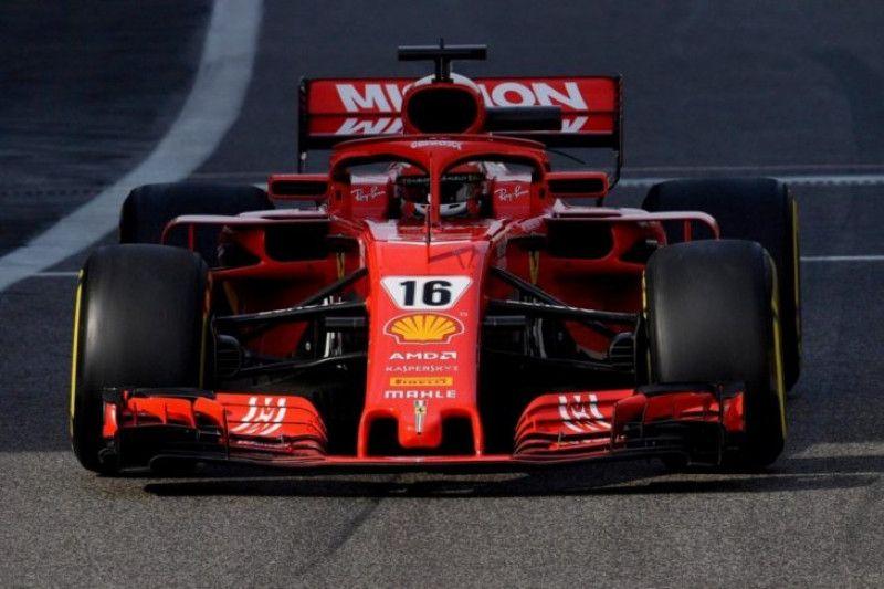 Debut bersama Ferrari, Leclerc tercepat hari kedua tes F 1 Abu Dhabi