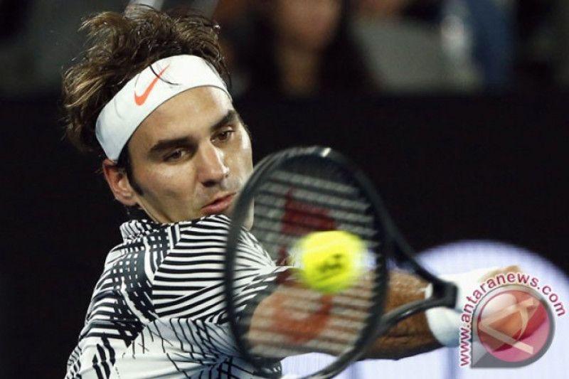 Taklukkan Thiem, harapan Federer di ATP Finals masih terbuka