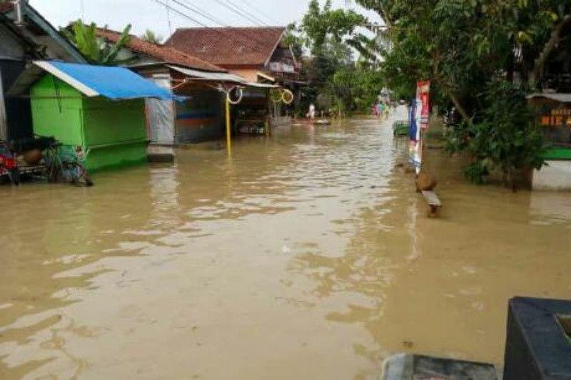 Banjir genangi empat desa di Cilacap