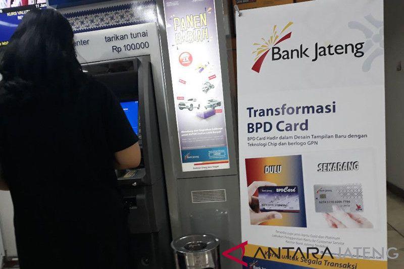 Bank Jateng distribusikan 460.000 kartu ATM GPN