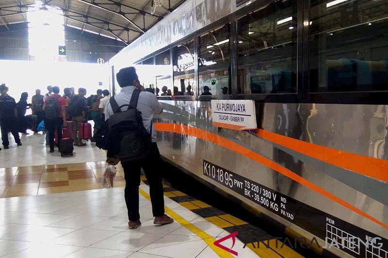 Volume penumpang KAI Purwokerto naik 5,8 persen saat libur Natal