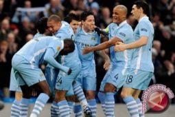 Manchester City gilas Shaktar tanpa ampun