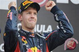 Sebastian Vettel memenangi Grand Prix Britania