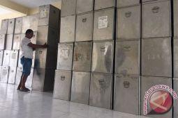 KPU Gunung Kidul terima logistik kotak suara Pemilu 2019