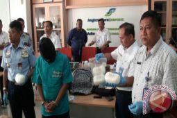 Bandara Adisutjipto gagalkan penyelundupan sabu-sabu tiga kilogram