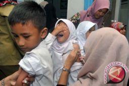 1,7 juta anak belum diimunisasi lengkap