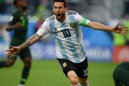 Prancis tahan Argentina 1-1 pada babak pertama