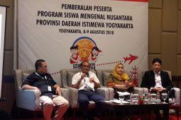 BUMN HADIR - Peserta SMN Yogyakarta diajak mengenali peran BUMN