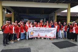 BUMN HADIR - 23 siswa SMN Kalteng tiba di Yogyakarta