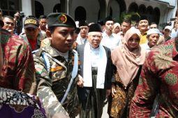 Ma'ruf Amin kunjungi Ponpes Krapyak Yogyakarta